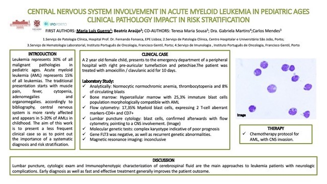 P78 – Central Nervous System Involvement In Acute Myeloid Leukemia In Pediatric Ages Clinical Pathology Impact In Risk Stratification